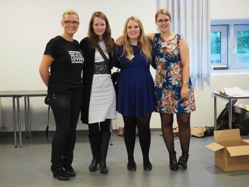 Tusind tak til arrangørerne: Rikke, Karin, Simone og Irene